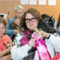 победитель выставки кошек