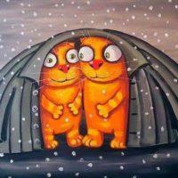 тёплые коты