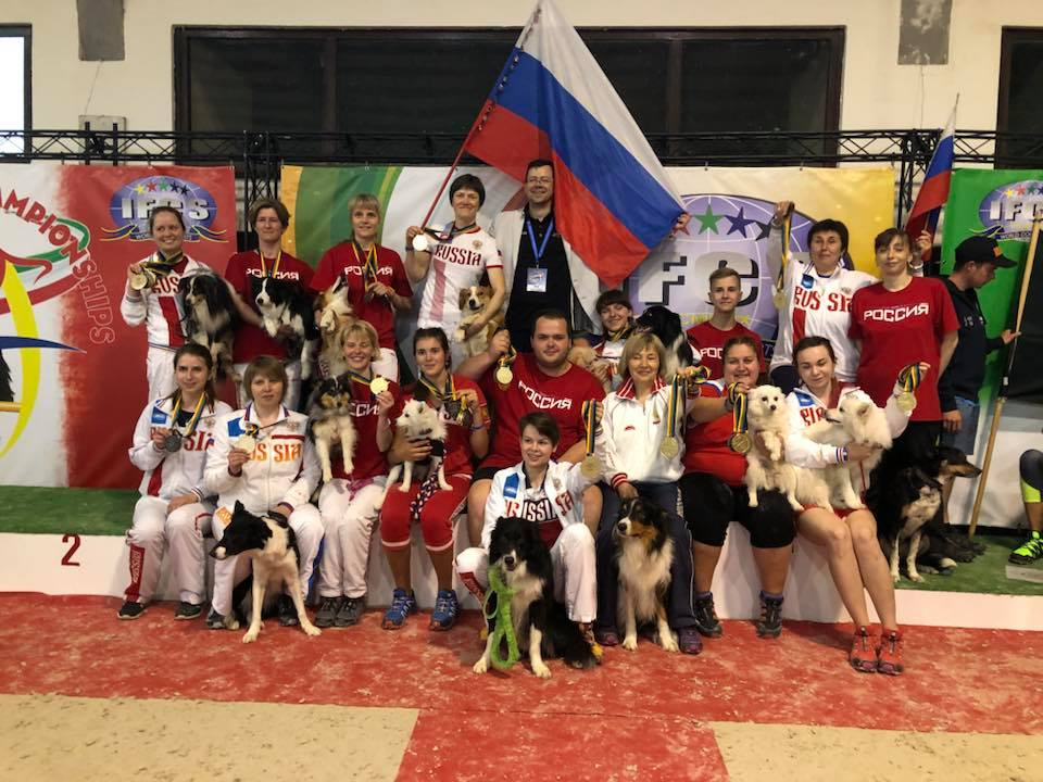 сборная России по аджилити