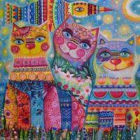 выставка кошек альфа кот 9-10 марта 2019